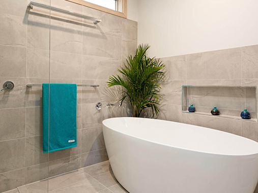 Bathroom renovation Donvale
